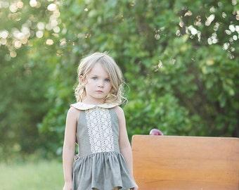 The Seraphina Dress & Tunic PDF Sewing Pattern Size 12 month - 12 year Girls Toddler Tween