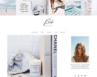 Responsive WordPress Theme | Bondi Feminine Lifestyle Blog Design | WordPress Template | Genesis Child Theme