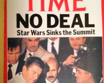 Time Magazine, October 20, 1986