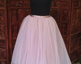 Tulle skirt, ceremony