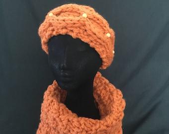 Merino Wool Headband with Superfine Alpaca