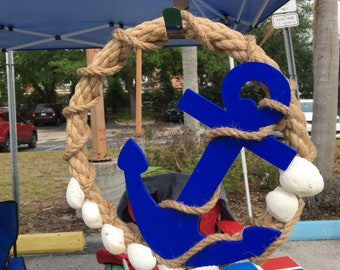 Nautical - Anchors Away Wreath