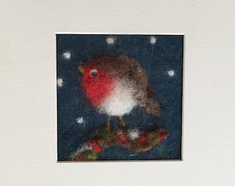 Wooly winter Robin