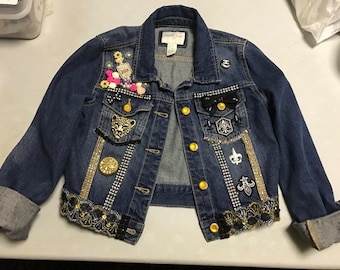 Denim Girls Jacket (One of a Kind)