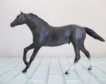 Breyer Horse Gray Thoroughbred Stallion - Little Bits Discontinued