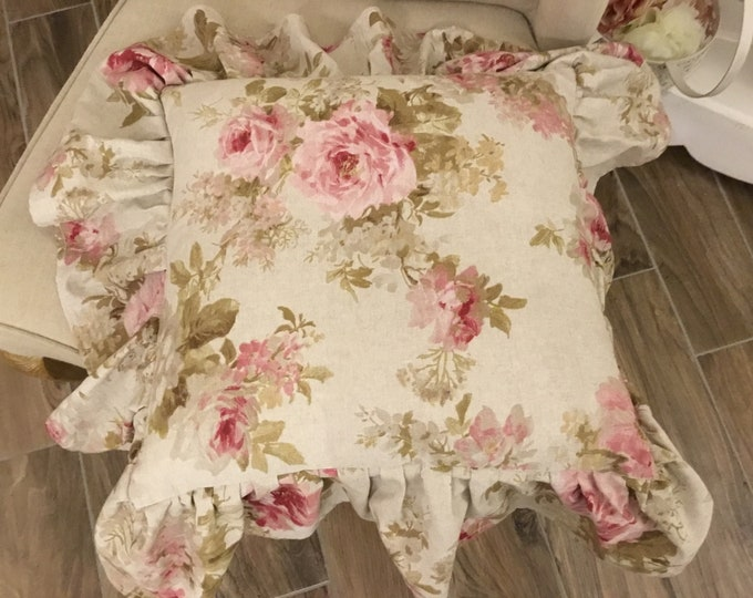 Rose Vintage Pillow