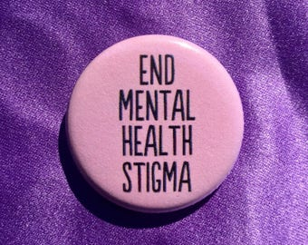End mental health stigma