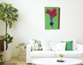 UnBeetable Color on Canvas - Green 12 x 20 inches
