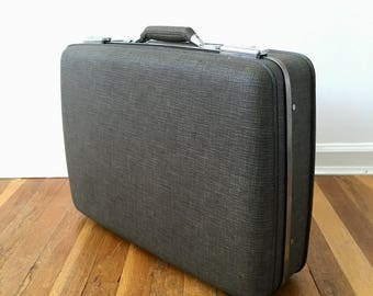 Vintage American Tourister Suitcase with Key