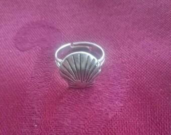 Scallop Shell Ring /Camino de Santiago / Pilgrim / Beach / St James