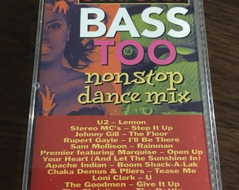Strictly Bass TOO non stop dance mix cassette tape
