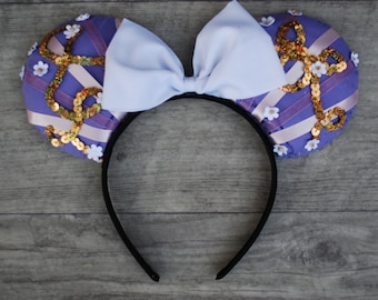 Princess Rapunzel Inspired Mouse Ears