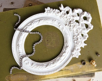 Prima Memory Hardware Resin Frames-Montchamp Imperial Frame, Frank Garcia Embellishments, New Release In Stock And Ready To Ship!