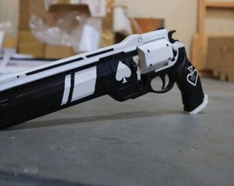 Destiny Ace of Spade Hand Cannon Replica Cosplay Prop Gun