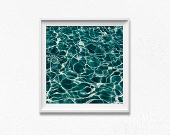 Ocean print, ocean wall art, sea poster, ocean photography, ocean waves print