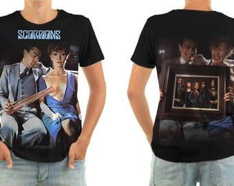 SCORPIONS lovedrive shirt all sizes