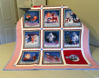Rudolph The Red Nosed Reindeer Quilt