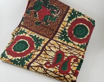 Ankara print / african fabric /African Print / Ankara Fabric / Wax Print/ 6yards.
