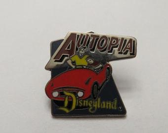 Disney Disneyland Autopia Pin