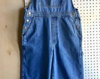 Vintage 90s GAP Denim Overalls Size Mediuem