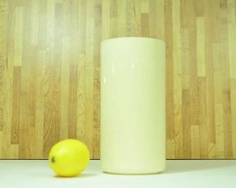 Vintage Crayonne Cylinder Canister Vase