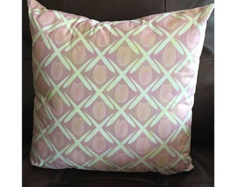 Dusty Pink Tulip Pillow