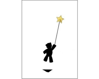 Greeting Card - Rising Star