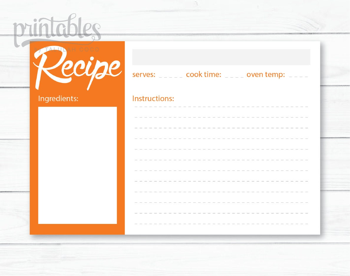 card templates for pages