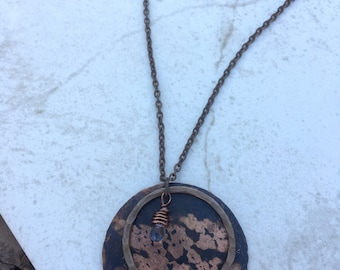 Copper Patina Necklace
