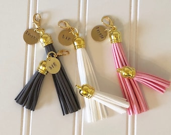Big Little Gift Set, Big Little Keychain, Big Little Reveal, Tassel Keychain, Tassel Purse Charm, Big Little Tribal Keychain, Big/Lil Charm