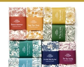 Pick 20 Hymn Tea Towels | Christian wall art teacher gift ideas mothers day gift kitchen towel botanical print art print housewarming gift