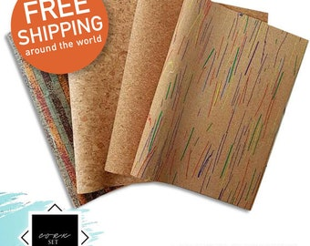 Cork Stack | 4 Sheets of Quality Cork | Limited Stock