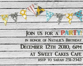Party Invitation -- keep it classy