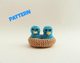 Amigurumi Birds Pattern, Crochet Birds Pattern, Crochet Amigurumi Pattern, Crochet Toy Pattern, Crochet Baby Toy Pattern, Amigurumi Patterns