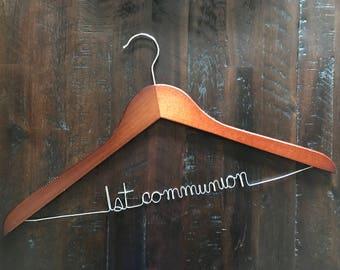 1st Communion Hanger