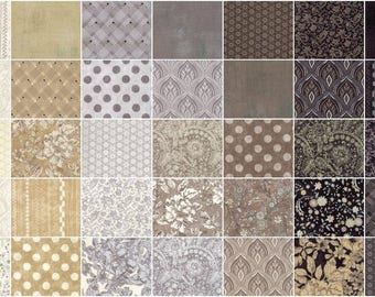 Maven Charm Pack by BasicGrey for Moda Fabrics