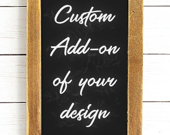 CUSTOM ADD-ON: Let me convert your design for you!