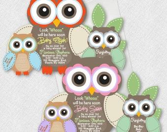 Owl baby shower invitation etsy fall owl baby shower invitations owls baby shower invitations girl owl invitation baby shower invitation bird baby invitation owl shower filmwisefo