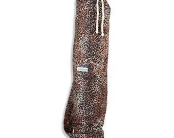 Leopard Print Wobble Yoga bag