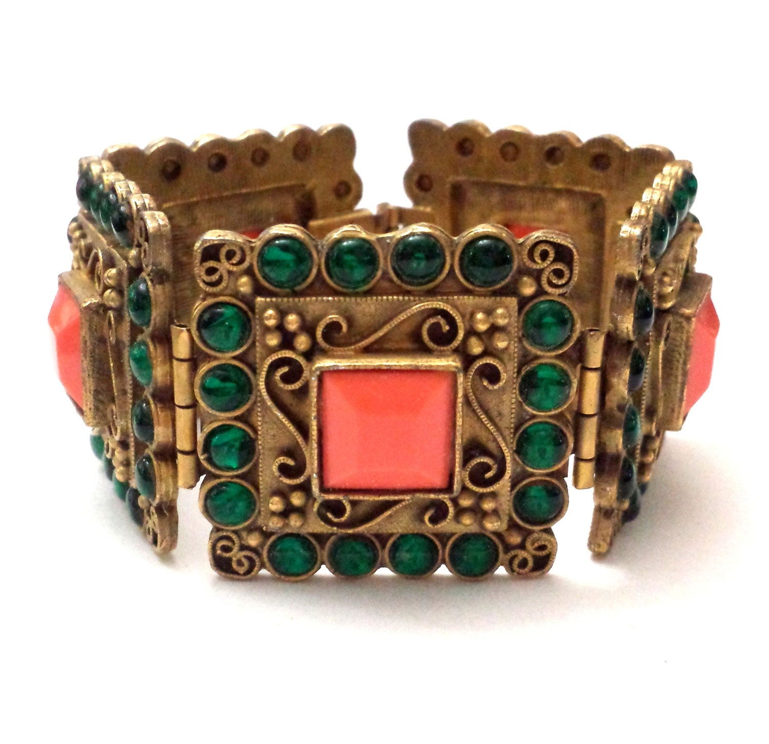 de Fou Bracelet High End Costume Jewelry Couture