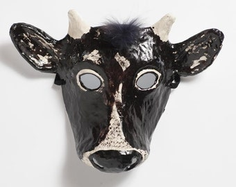 Calf paper mask
