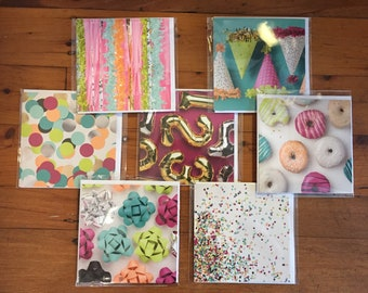 Let's Party! Card, Blank Card, Greeting Card, Celebration Card, Wedding Card, Engagement Card, Special Card, Birthday Card