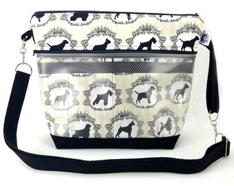 Travel Project Bag Organizer - Interchangeable Needle & Hook Tool Case - Best in Show