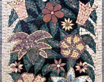 The Contemporary Flower Basket Mosaic