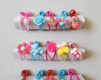 Ponytail Holders, Set of 5, Hair Ties for Girls, Girls Hair Accessory