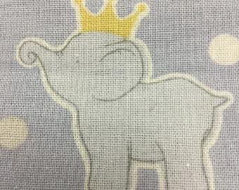 Daisy Kingdom Royal Elephant Fabric - ADORABLE!