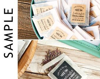 Send Off Toss Pack SAMPLE  - Wedding Planning Sample