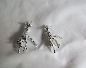 Two Giraffe Pins, Pins, Giraffe
