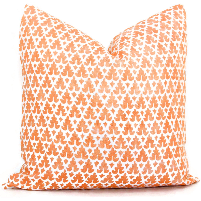 throw pin linen orange lumbar case burnt solid pillow pillows wholesale