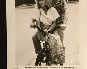 Movie photo, Stanley and Iris starring Jane Fonda and Robert De Niro.